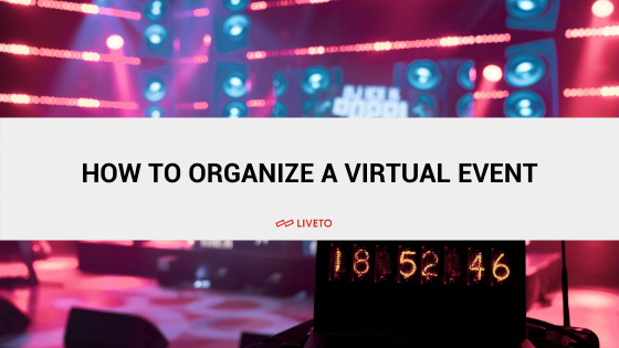 How to organise a virtual event