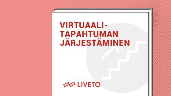 Virtuaalitapahtuman järjestäminen