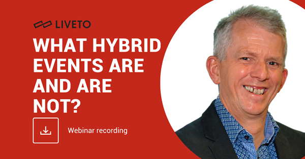What hybrid events are and are not?